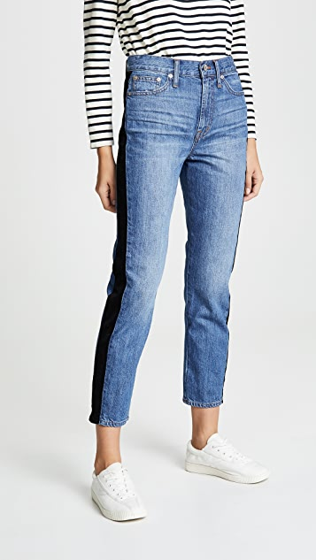 Vintage Tux Stripe Jeans by Madewell