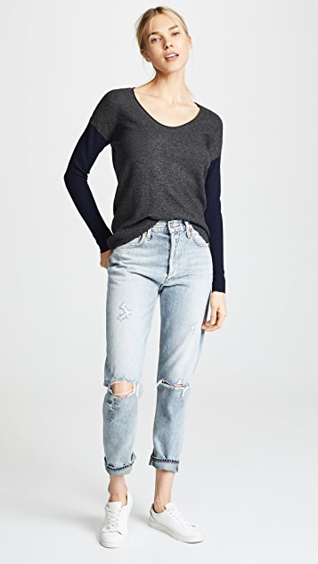 Madewell Colorblock Catalina Pullover