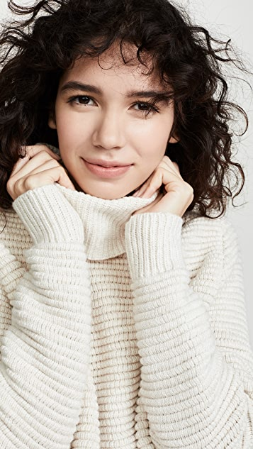 Madewell Side Button Turtleneck Sweater