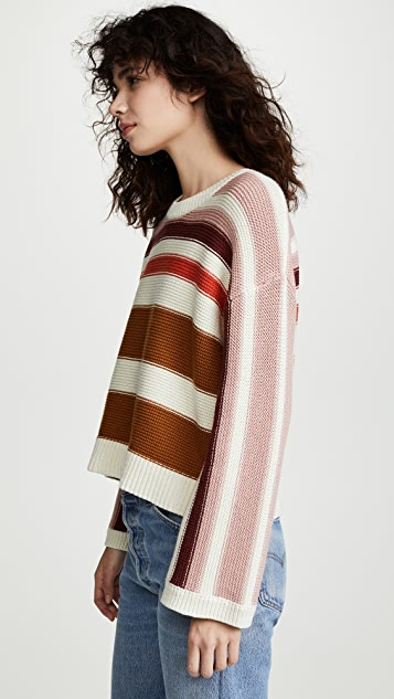 Madewell Striped Big Sur Pull Over