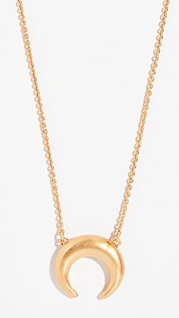 Madewell Crescent Pendant Necklace