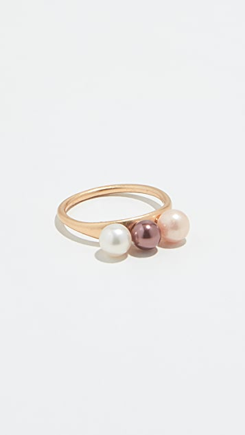 Madewell Agnes Cultured Pearl Ring