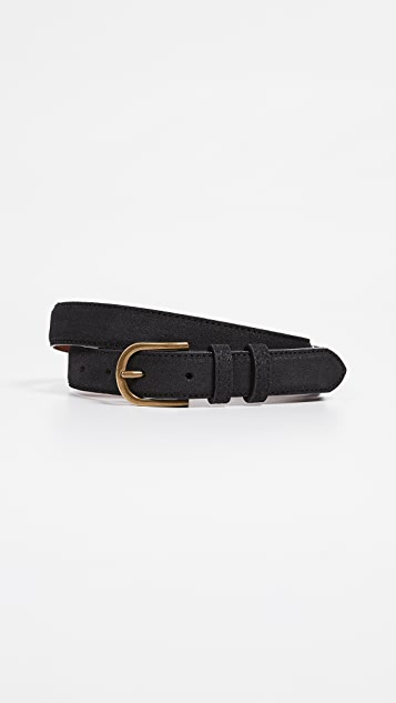 Madewell Suede Bombe Belt