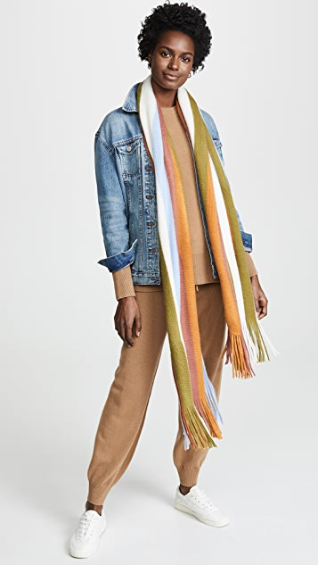 Madewell Vertical Stripe Scarf