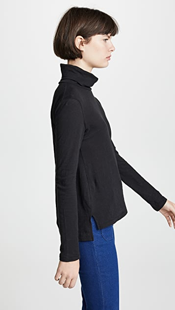 Madewell Whisper Cotton Turtleneck