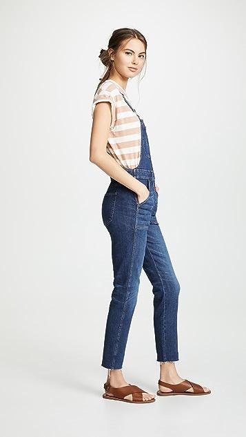 Madewell Skinny Overalls