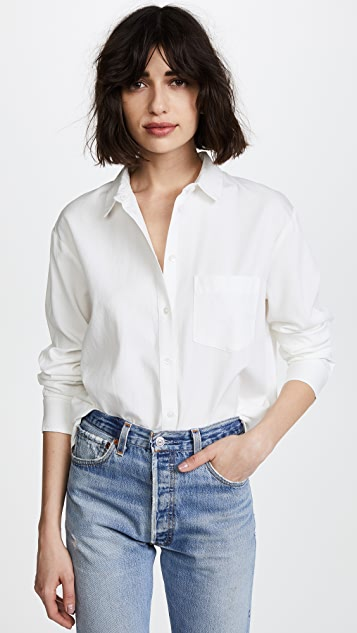 Drapey Oversized Boyshirt by Madewell