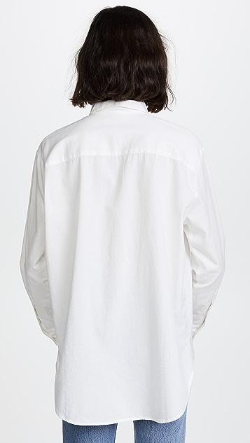 Madewell Drapey Oversized Boyshirt