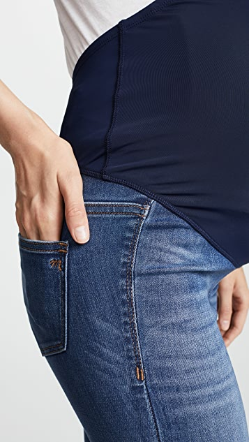 Madewell Maternity Over-the-Belly Skinny Jeans