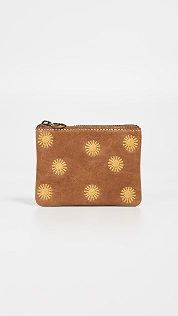 Madewell Small Pouch with Suns