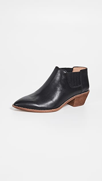 Madewell Low Chelsea Boots