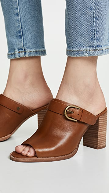 Madewell The Riley Convertible Slingback Mules