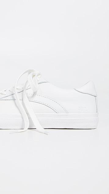 Madewell Sidewalk Low-Top Sneakers in Leather