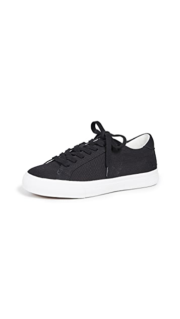 Madewell Women's Sidewalk Low-Top Sneakers in Canvas
