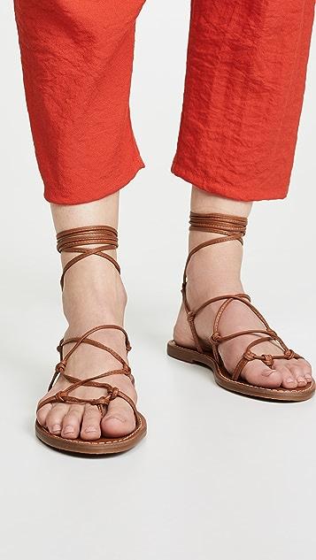 Madewell The Boardwalk 系带凉鞋