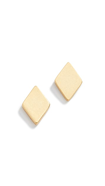 Madewell Diamond Stud Earrings