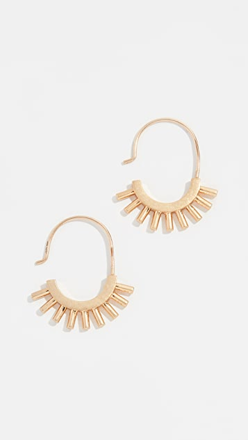 Madewell Succulent Earrings