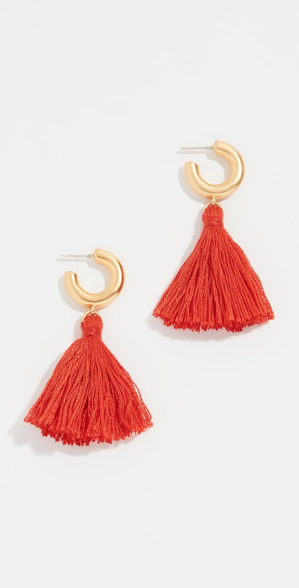 Lantern Tassel Earrings
