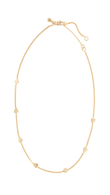 Madewell Heartstrings Choker Necklace