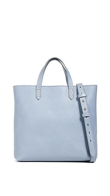 Madewell Маленькая сумка через плечо Transport на молнии со вставками