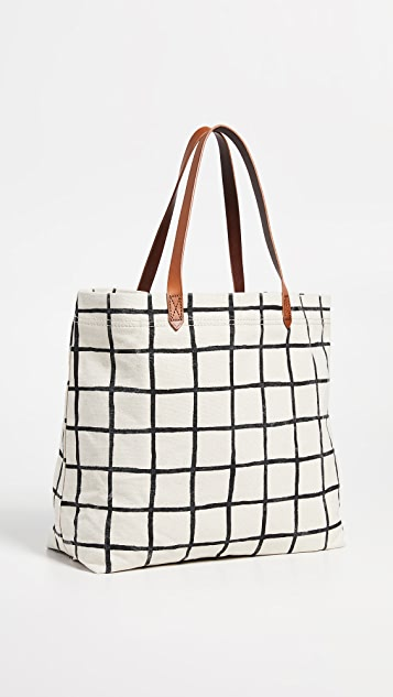 Madewell Classic Printed Transport Tote