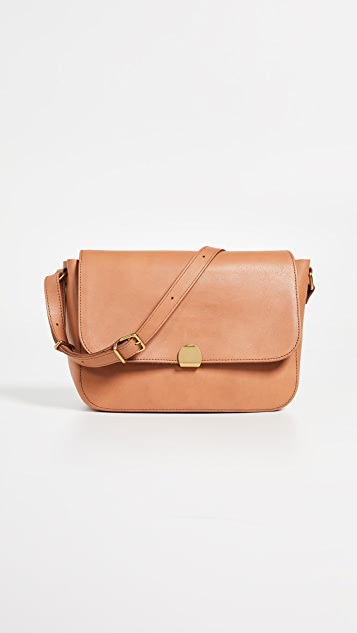 Madewell The Abroad Shoulder Bag - Desert Camel