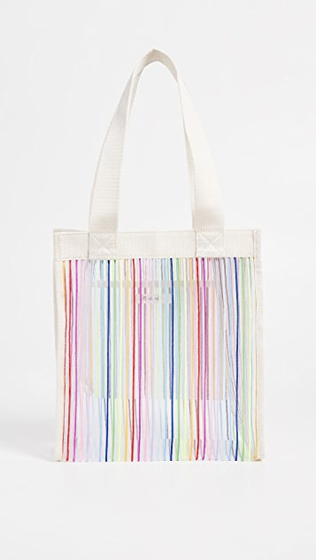 6a8f2e8cb Madewell The Netting Tote Bag in Rainbow Stripe | SHOPBOP