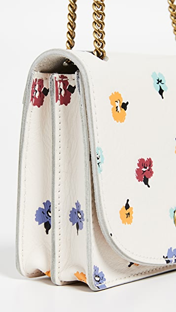 Madewell Confetti Floral Chain Crossbody Bag