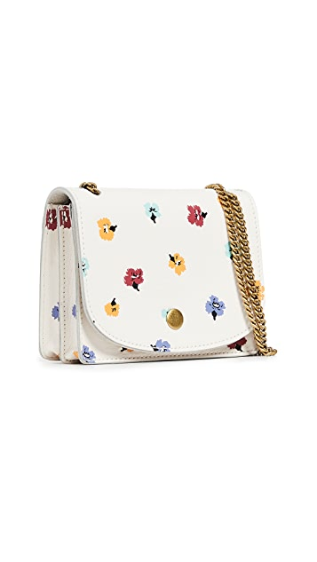 Madewell Confetti Floral Chain Crossbody Bag