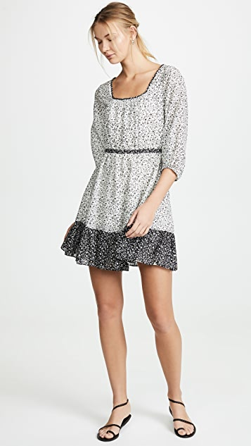 Madewell Print Mix Dress