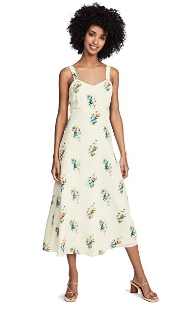 Madewell Миди-платье без рукавов