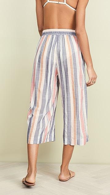 Madewell Wide Leg Beach Pants