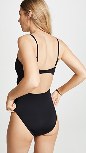 Madewell Second Wave Cutout One Piece Swimsuit