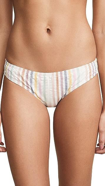Madewell Stripe Andi Bikini Bottoms