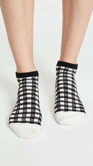 Madewell 格子短袜