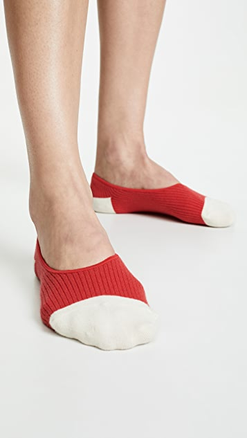 Madewell Two Pack Heart Low Profile Socks