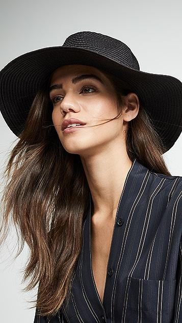 Madewell Складная соломенная шляпа Mesa