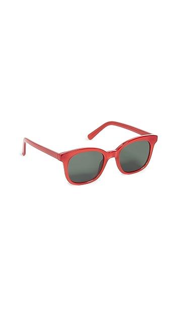 Madewell Venice Flat-Frame Sunglasses