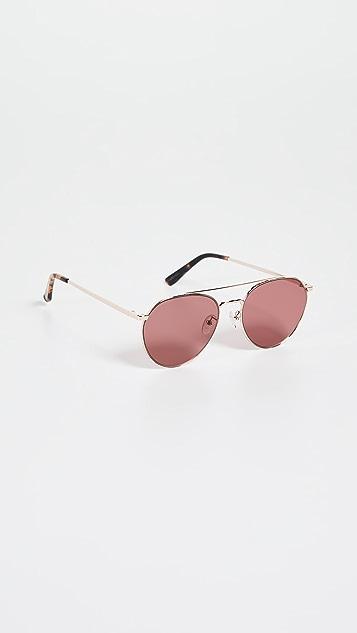Madewell Celia Aviator Sunglasses