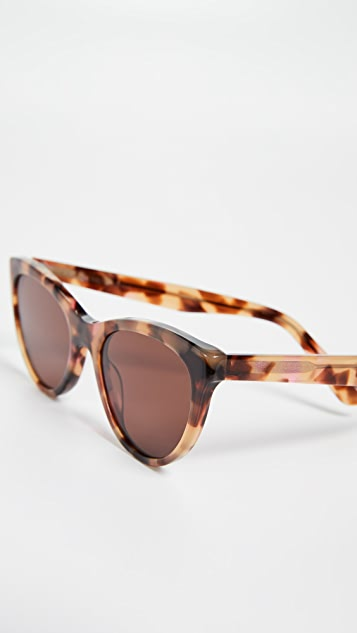 Madewell Солнцезащитные очки «кошачий глаз» Ava