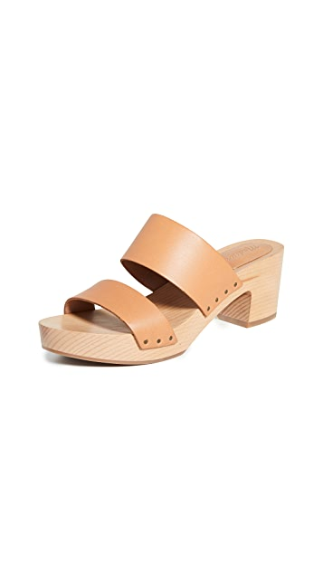 Madewell The Clara Clog Sandals