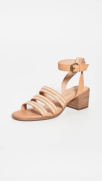 Madewell The Lily Whipstitch Sandals