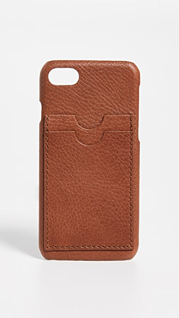 Madewell Leather Carryall Case for iPhone 6 / 7 / 8