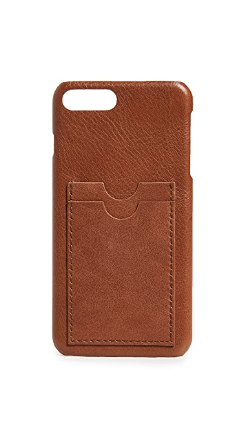 Madewell Leather Carryall Case for iPhone 6 / 7 / 8 Plus