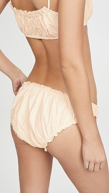 Madewell Second Wave Ruffled Bikini Bottoms