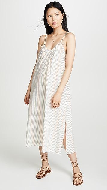 Madewell Макси-платье с завязками