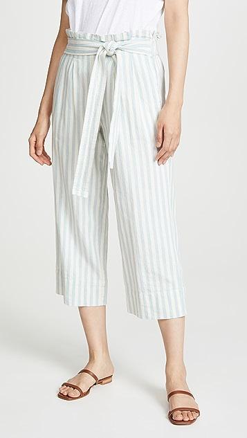 Madewell Paperbag Wide Leg Pants
