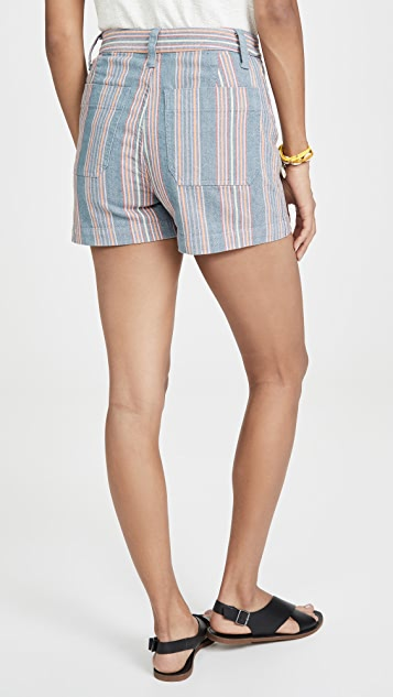 Madewell Emmett Shorts With Patch Pockets