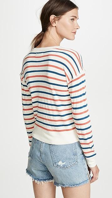 Madewell Sporty Shrunken Sweatshirt