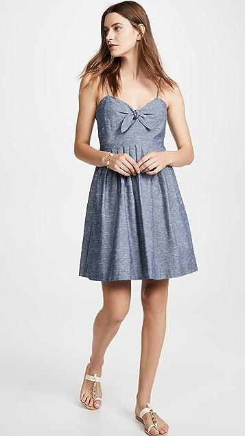 Madewell Платье-майка с завязками спереди
